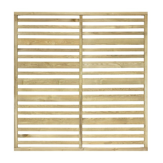 6ft High (1800mm) Grange Urban Garden Screen Fencing Packs - Pressure Treated