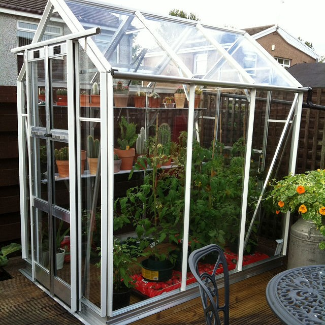 "4'3"" (1.30m) Wide Elite Compact Aluminium Greenhouse Range"