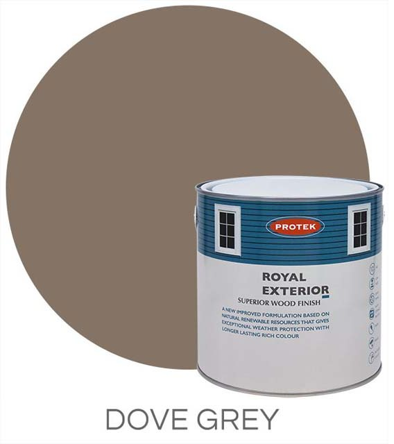 Protek Royal Exterior Paint 5 Litres - Dove Grey