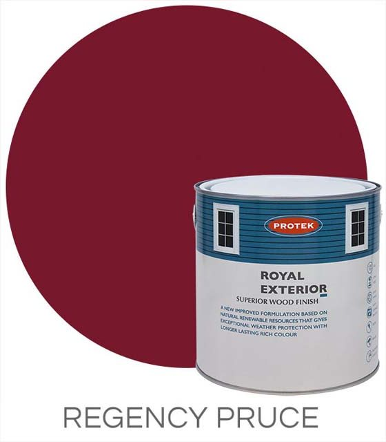 Protek Royal Exterior Paint 5 Litres - Regency Puce