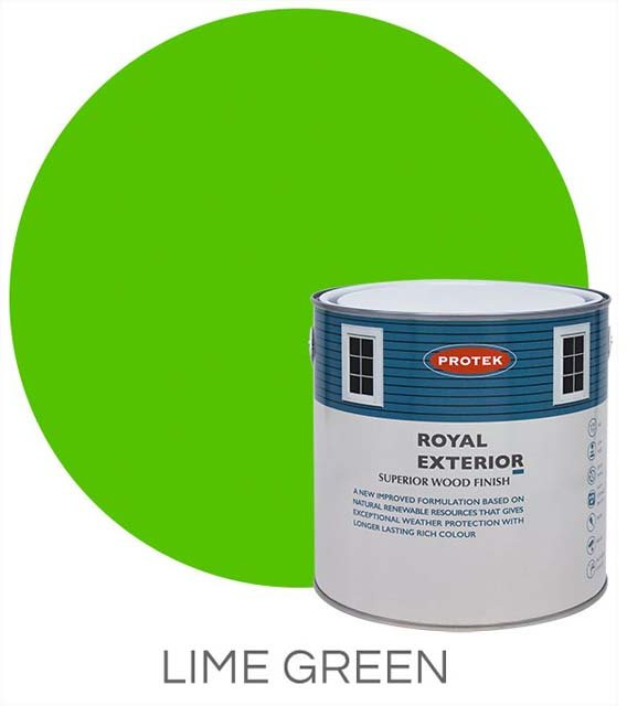 Protek Royal Exterior Paint 5 Litres - Lime Green