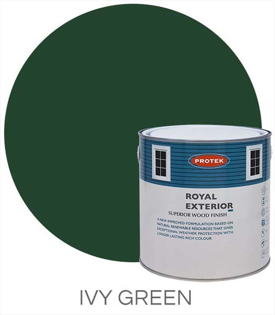 Protek Royal Exterior Paint 5 Litres - Ivy Green