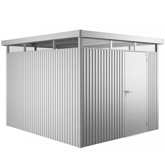 9 x 10 (2.75m x 3.15m) Biohort Highline H5 Metal Shed Single Door