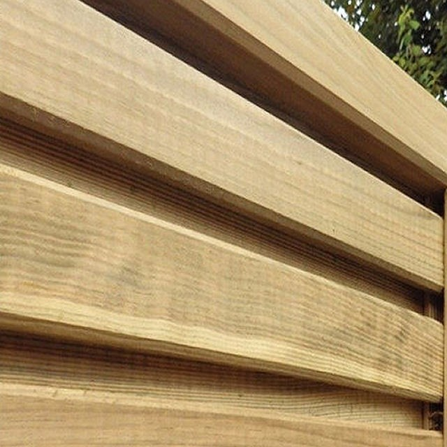 6ft High (1800mm) Grange Contemporary Vogue Gate - Pressure Treated