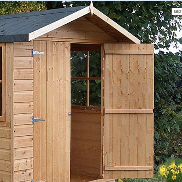 10 x 7 (2.97m x 2.05m) Shire Guernsey Pressure Treated Apex Shed