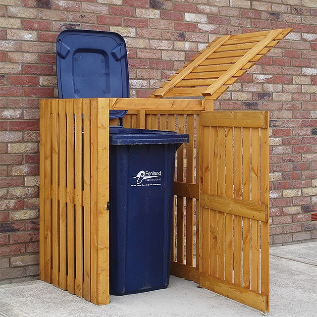 Shire 3 x 3 (0.83m x 0.83m) Shire Single Wheelie Bin Store