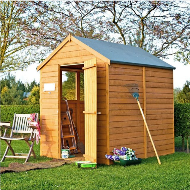 Shire 7x 5 Overlap Shed with Single Door
