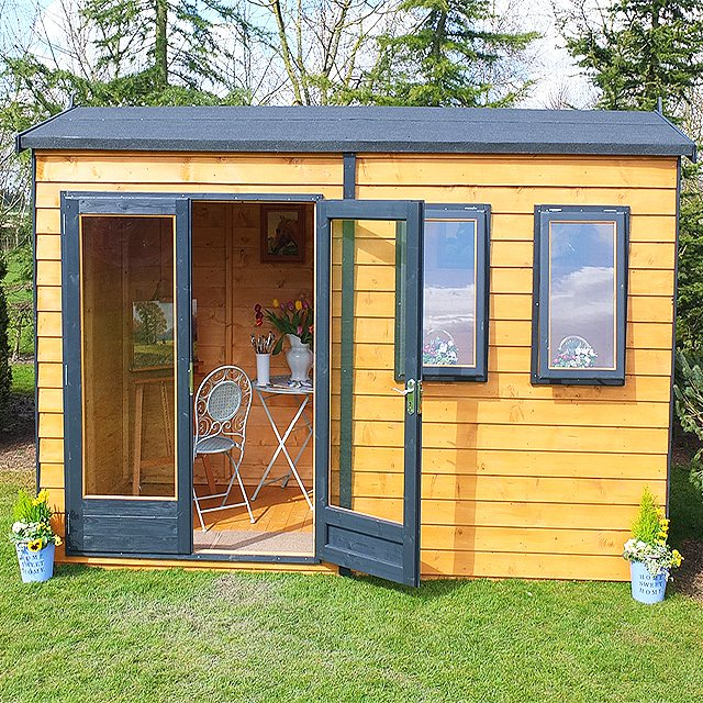 10 x 10 Shire Garden Studio Summerhouse