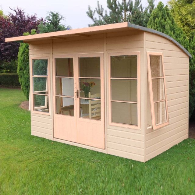 10 x 6 Shire Orchid Summerhouse - Unpainted