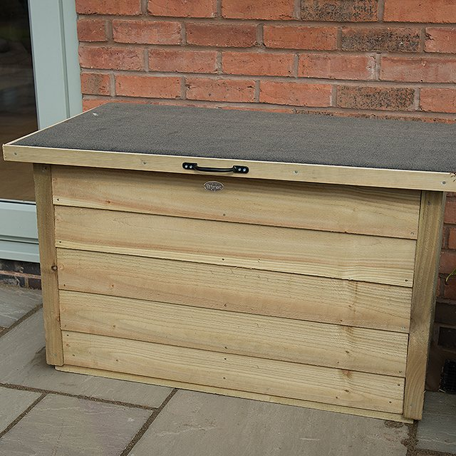 3 x 2 Pressure Treated Forest Garden Storage Box with Lifting Lid