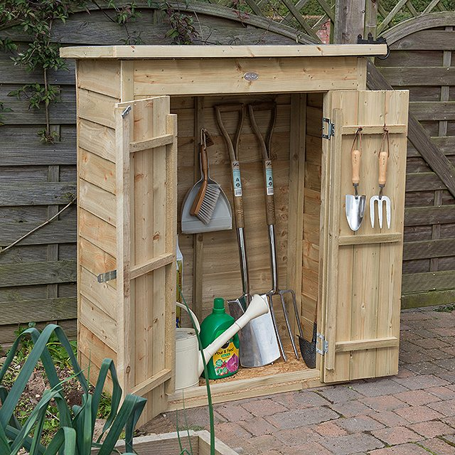 3 x 2 Forest Pent Garden Store - Pressure Treated