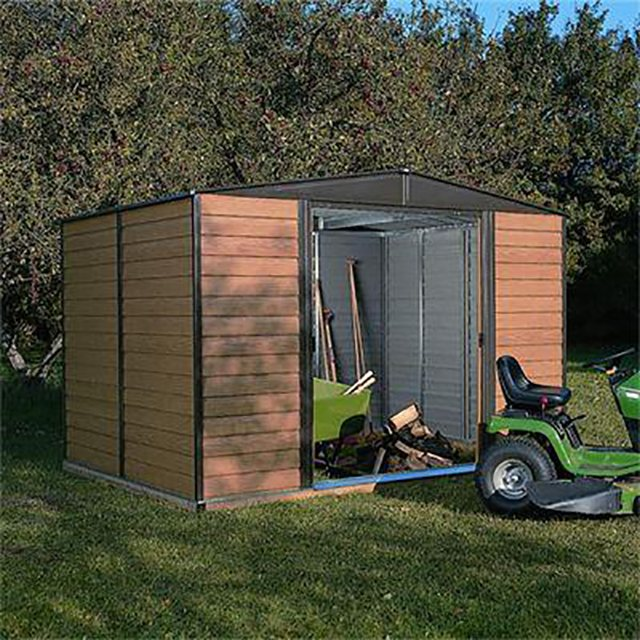 10 x 8 Rowlinson Woodvale Metal Shed