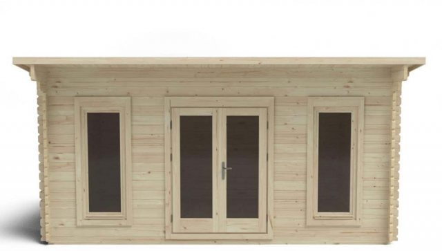 13 x 16 Forest Mendip Pent Log Cabin