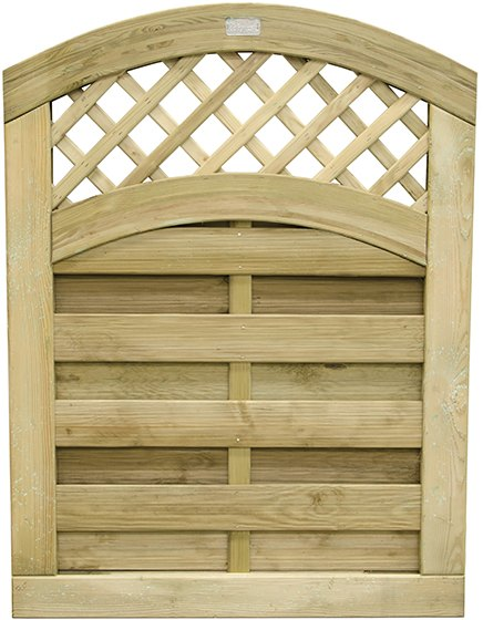 4ft Forest Prague Gate - Pressure Treated - Isolated view