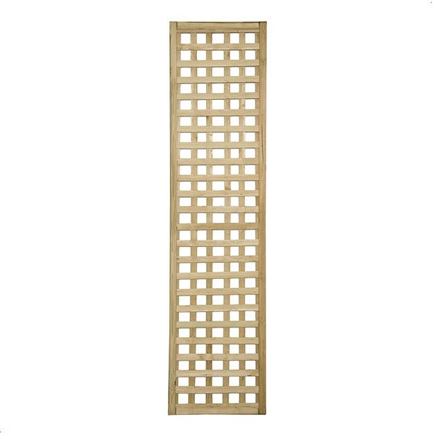 1ft 6ft x 6ft (450mm x 1800mm) Forest Premium Framed Trellis - Isolated view