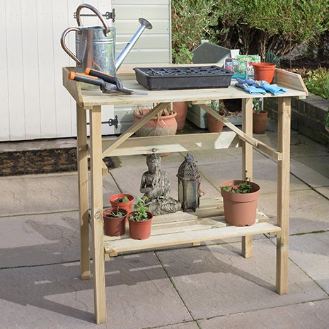 Grange Potting Table - in situ