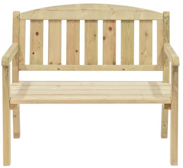 Grange Classic Double Garden Bench  - isolated view