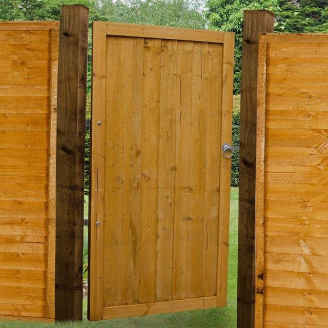 6ft High Forest Featheredge Gate