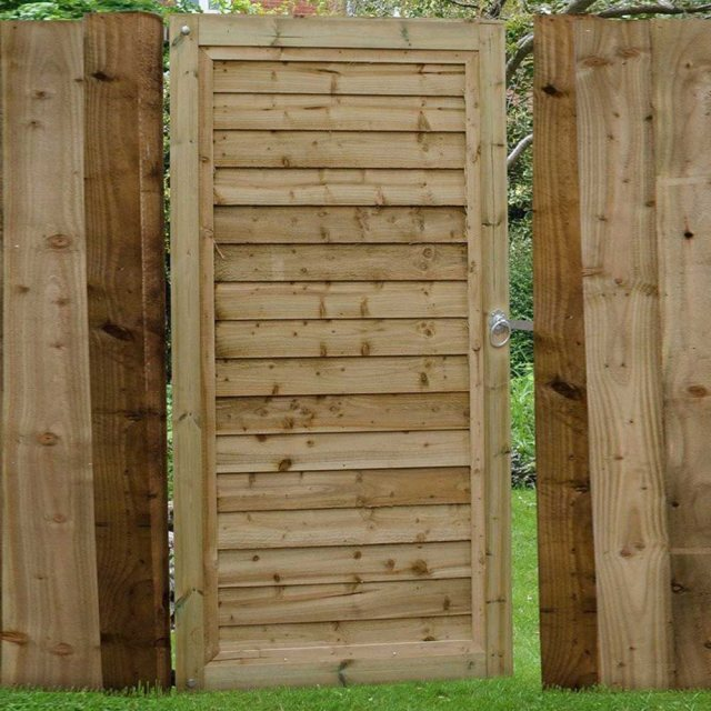 6ft High Forest Pressure Treated Square Lap Gate