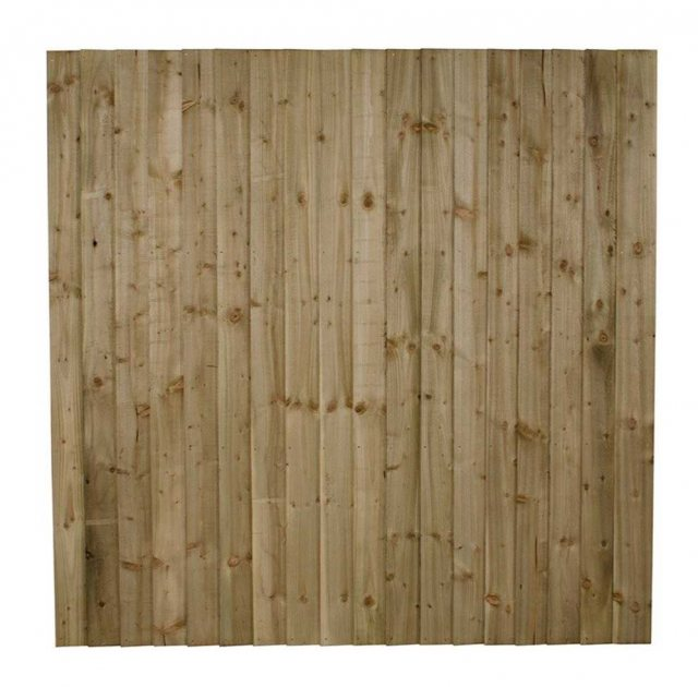 6ft High (1800mm) Forest Pressure Treated Featheredge Fence Panel