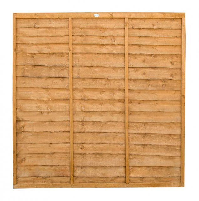6ft High (1830mm) Forest Trade Lap Panel