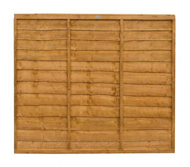 5ft High (1520mm) Forest Trade Lap Panel