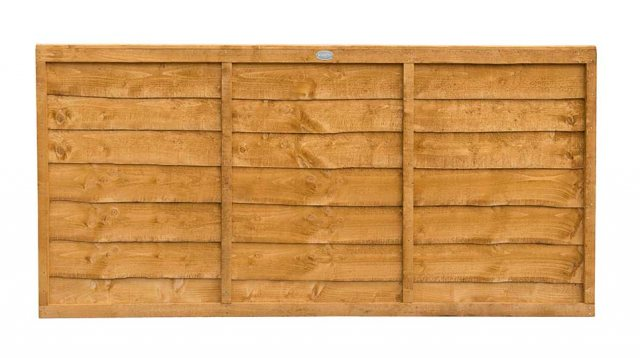 3ft High (910mm) Forest Trade Lap Panel