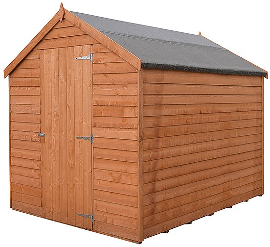 7 x 5 Shire Value Overlap Pressure Treated Shed - Windowless