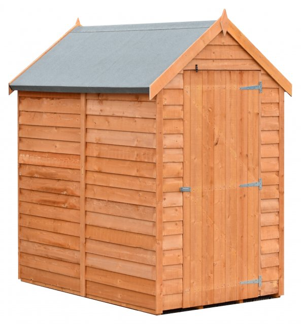 6 x 4 Shire Value Overlap Shed - Windowless