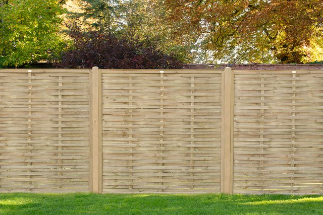 6ft High (1810mm) Forest Woven Fence Panel - Pressure Treated