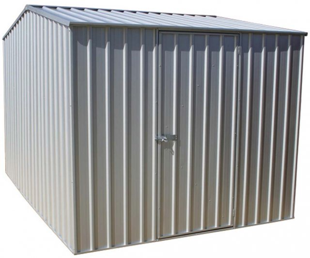 10 x 7 (3.00m x 2.26m) Mercia Absco Premier Metal Shed in Titanium