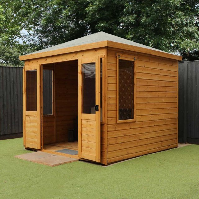 8 x 8 Mercia Clover Summerhouse - untreated