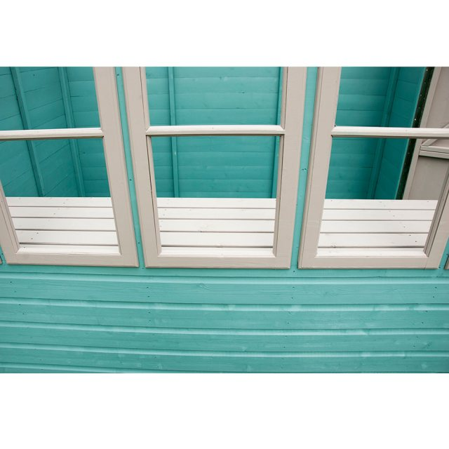 Shire Sun Pent Shiplap Potting Shed - fixed front windows