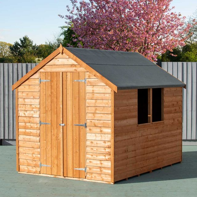 8 x 6 Shire Value Overlap Shed - Double Doors