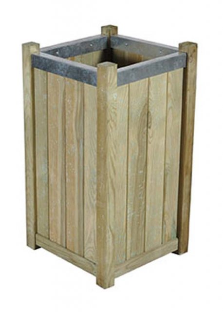 Forest Slender Planter - Small - Pressure Treated - isolated view