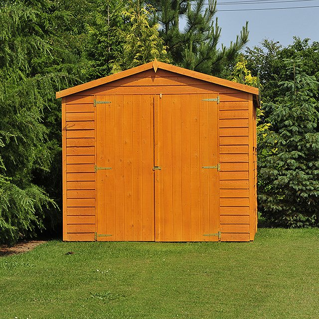 Shire 20 x 10 Overlap Workshop Shed - Windowless
