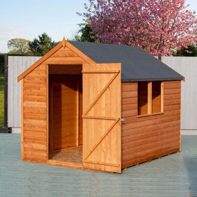 8 x 6 Shire Value Overlap Shed