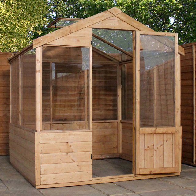 4 x 6 Mercia Traditional Greenhouse