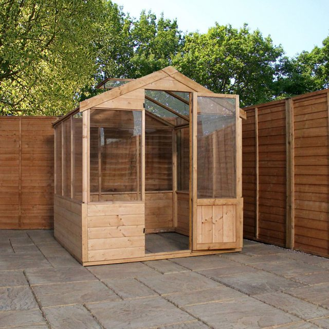 6 x 6 Mercia Traditional Greenhouse