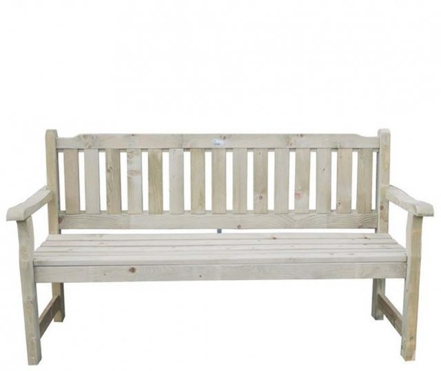 Forest Rosedene 5ft Bench - Pressure Treated - isolated view