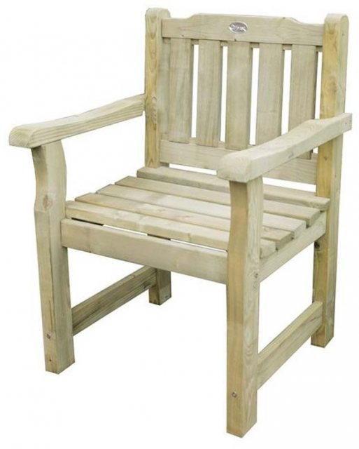 Forest Rosedene Chair - Pressure Treated - isolated view