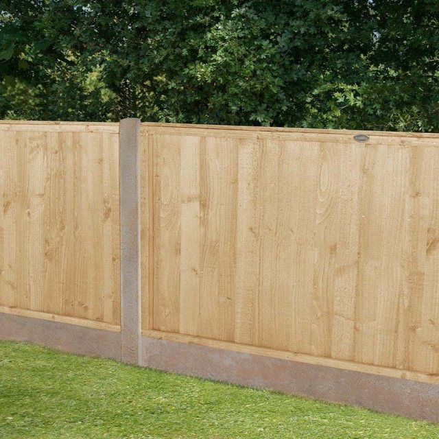 3ft High Forest Closeboard Fence Panel - Pressure Treated