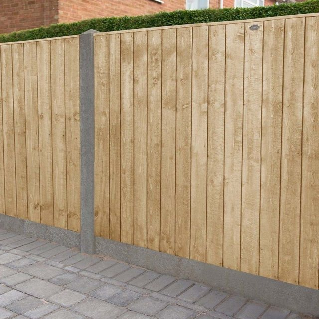 4ft High Forest Featheredge Fence Panel - Pressure Treated