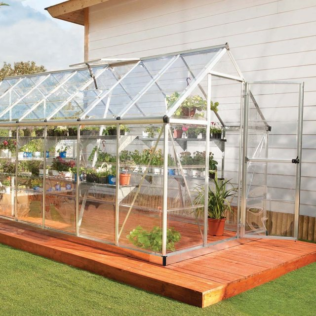 6 x 14 Palram Harmony Greenhouse in Silver