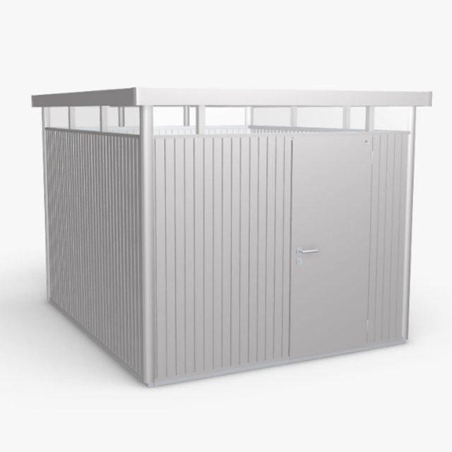 9 x 10 (2.75m x 3.15m) Biohort HighLine H5 Metal Shed - Single Door