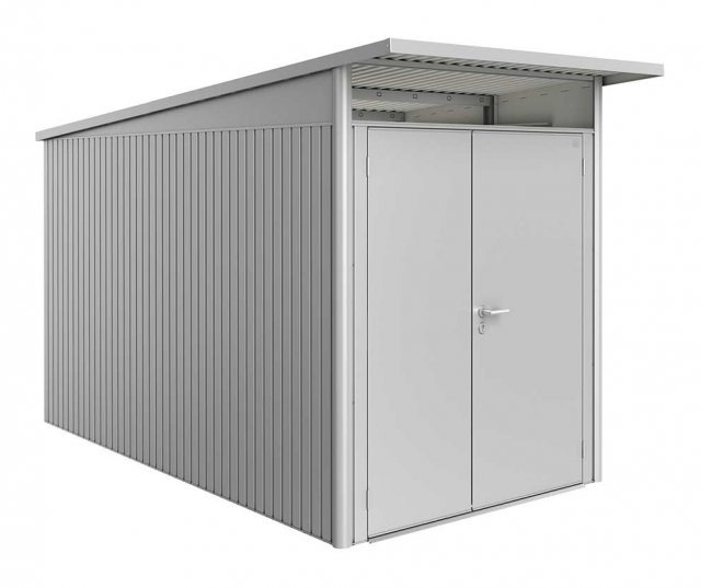 6 x 12 (1.80m x 3.80m) Biohort AvantGarde A4 Metal Shed - Double Door