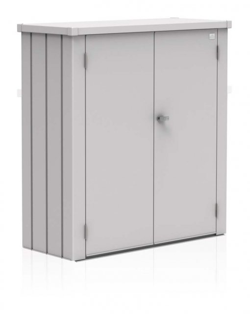 Biohort Patio Romeo Locker - Medium - Metallic Silver