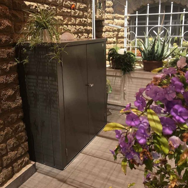 Biohort Patio Romeo Locker - Medium - Customer image