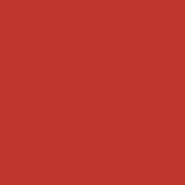 Protek Royal Exterior Paint 1 Litre - Pillarbox Red Colour Sample Swatch