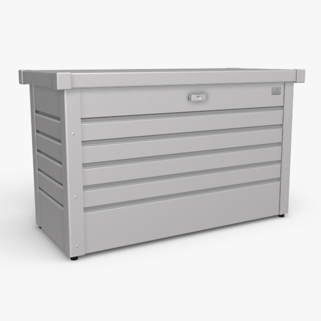Biohort LeisureTime Box 100 - Metallic Silver